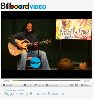 Ziggy Marley: Billboard Presents